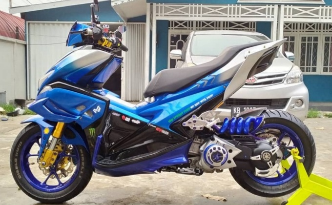 aerox Modifikasi
