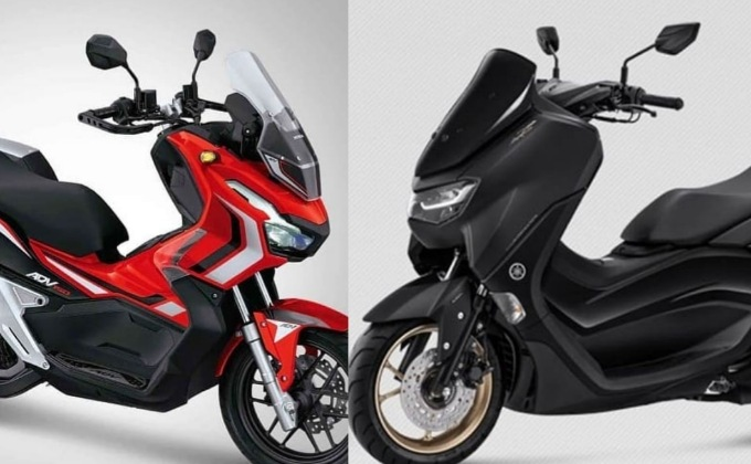 Perbandingan All New Yamaha Nmax 2020 Vs Honda ADV 150