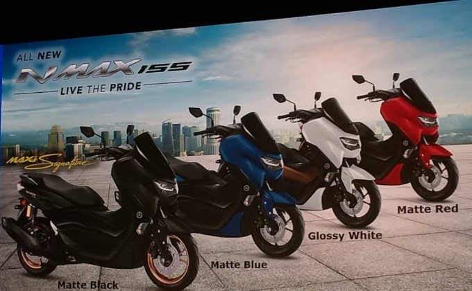 Pilihan warna All new Yamaha nmax 2020