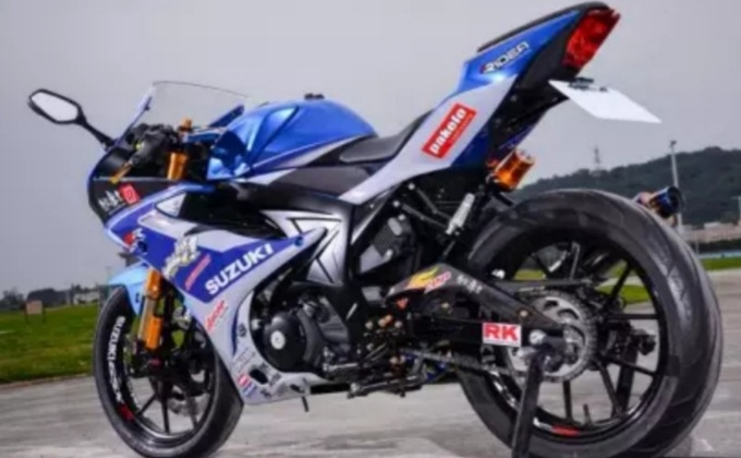 Modifikasi Suzuki GSX-R150