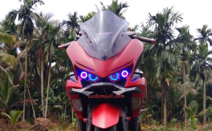 Cara Pasang Body kit Yamaha aerox 155