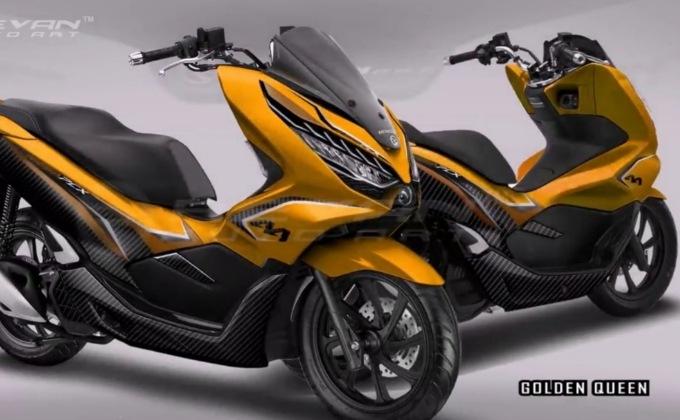 Modifikasi Honda PCX 150