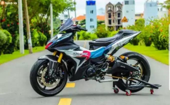 Modifikasi Yamaha Mx king