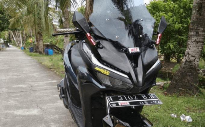 Cara Membuat Pangkon Plat Di Honda New Vario