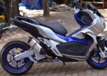 Modifikasi Honda ADV 150 Super Keren Milik Sultan Jogja