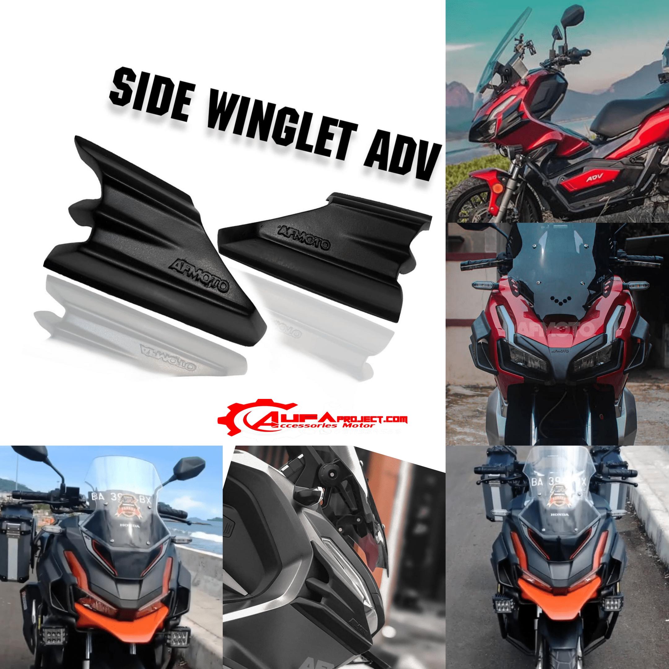 Side Winglet Honda Adv Aksesoris Honda Adv 150 Aufaproject46 Com
