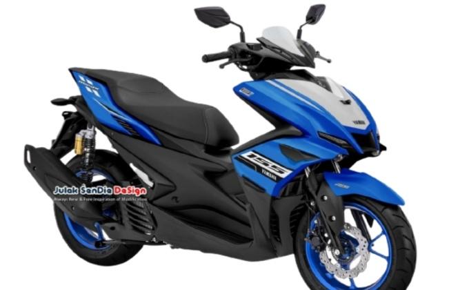 Gambaran New Yamaha Aerox