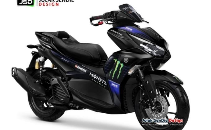 Harga New Aerox155 MotoGP