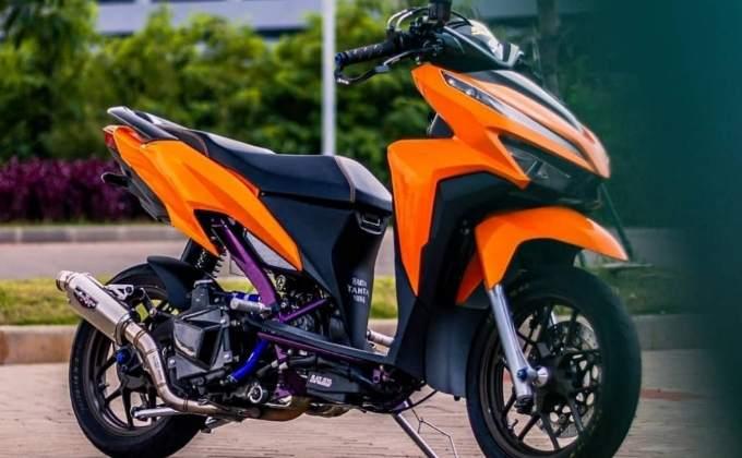 Honda vario 125 modif drag