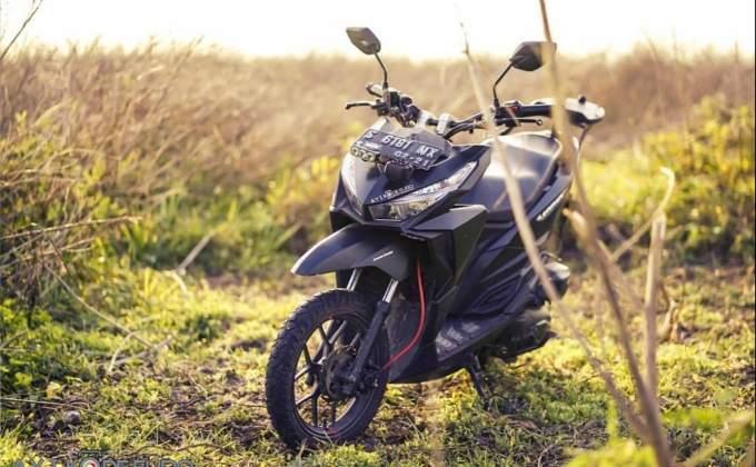 Honda vario modif street fighter