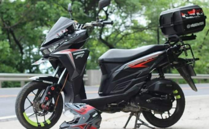 Honda vario modif touring