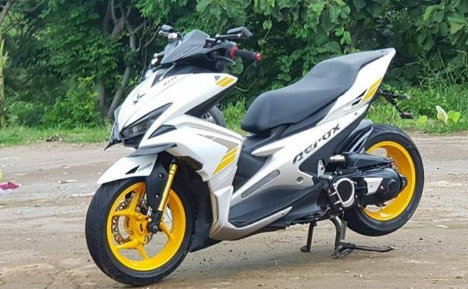 Ide Modifikasi Yamaha Aerox